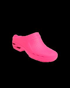 Bloc Zueco Medico sin Tira Color Rosa Talle 38; 1u/Caja