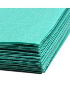 Sterilys Resma de Papel Crepado Verde 1,20m x 1,20m; 125hojas/Caja