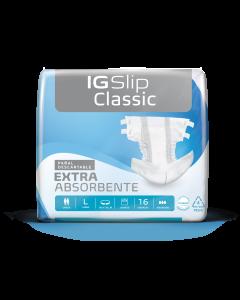 IG Slip Classic Pañal para Adulto Talle L; 90-120 Cm; 64u/Caja