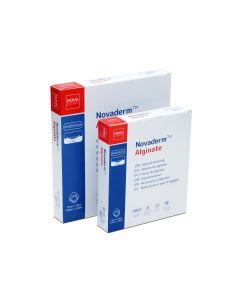 Novaderm Alginate Aposito Alginato de Calcio 10cm x 10cm; 10u/Box