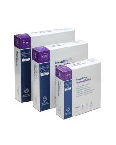 Novaderm Foam Adhesive Aposito Adhesivo de Espuma 10cm x 10cm; 10u/Box